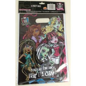 16 Bolsitas Dulceras Original Monster High Draculaura Franki