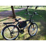 Bicicleta Elétrica Wind Bikes Modelo Summer 350 W 36 V 12ah
