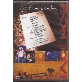 Bon Jovi Live From London Novo Lacrado Dvd Ao Vivo