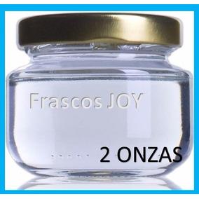 Frasco De Vidrio 2 Oz 60ml (paquete Con 6 Piezas)