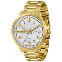Relógio Lince Mrg4271s S2kx Dourado Masculino - Refinado