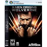 Juego Original Para Pc X-men Origins Wolverine