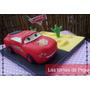 Tortas Decoradas Cars, Princesas, Originales Y Personalizas