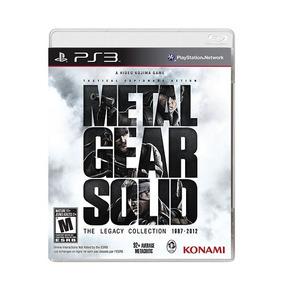 Metal Gear Solid Legacy Collection Ps3 Nuevo Físico Oferta!