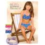 Bikini Nena Mini Promesse Infantil Top Y Culote Con Volado