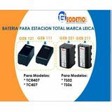 Baterías Para Estación Total Leica