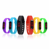Reloj Digital Led Silicona Manilla Unisex Xiaomi Band 2