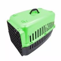 Caixa De Transporte Caes Ou Gatos N. 2 Verde Seu Cão Merece