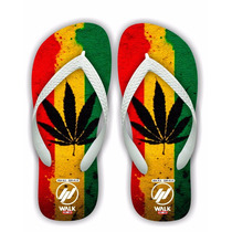 Chinelo Maconha Reggae