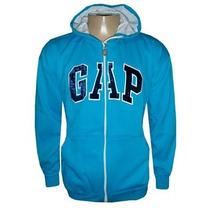 Blusa Gap De Moletom Casaco Jaqueta Azul Claro Masculino