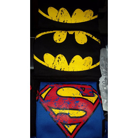 Franelas Algodon Adulto, Sweters Estampados Superman, Batman