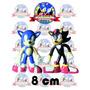 Figuras Sonic Y Shadow (en Pareja) 8 Cm