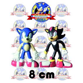 Figuras Sonic Y Shadow (en Pareja) 8 Cm (tienda Fisica)