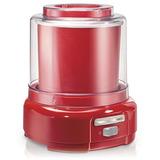 Maquina Hacer Helado Hamilton Rojo 1.4 Litros- Envio Gratis