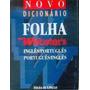 Novo Dicionário Folha Websters Inglêsportuguês - Portuguê...