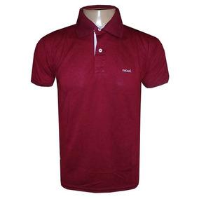 Camisa Colcci Gola Polo Camiseta Vinho