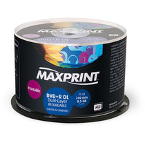 50 Dual Layer +r Maxiprint.umedisc Printable 8.5gb