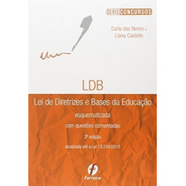 Lei De Diretrizes E Bases Da Educacao Esquematizada - 3° Ed