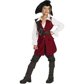 Disfraz Niño Piratas Del Caribe Elizabeth Pirate Deluxe - N