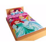 Juego De Cama Disney Sabana Disney Princesas R 100x190