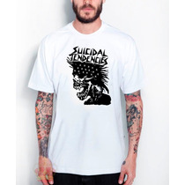 Camisa Camiseta Suicidal Tendencies Caveira - Exclusiva