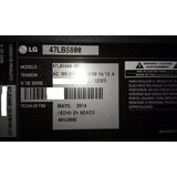 Televisor Lg 47lb5800 Desarme - Mainboard - Tiras Led