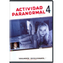 Actividad Paranormal 4,cuatro. La Pelicula En Formato Dvd