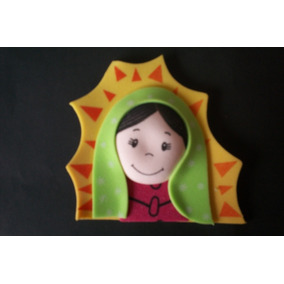 Figura Foamy Termoformado Virgencita 13 Piezas Fomi