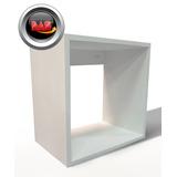 Cubos Laqueados Exhibidores Repisa Fibro Estantes De 30x30