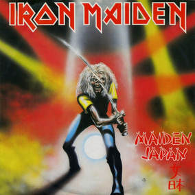 Iron Maiden Maiden Japan (cd Novo Lacrado)