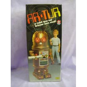 Brinquedo Arthur Anos 80-novo Cx Original Mas Não Lacrada