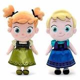 Peluches Elsa + Anna De Frozen Nenas, Grandes 40 Cm, Las 2!