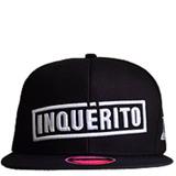 Boné Inquérito Preto - Original, Oficial E Novo - Hip-hop