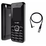 Telefone Celular 2 Chip Lemon + Adaptador Para Antena Rural