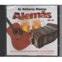 As Melhores Músicas Alemãs - Cd Vol.2 Coletânea - Lacrado