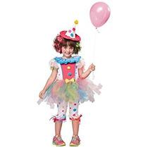 Disfraz Para Niña Traje De Payaso Del Arco Iris Cutie Niño