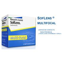 Lentes De Contacto Soflens Multifocal Para Presbicia