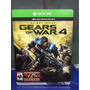 Gears Of War 4 Ultimate Edition Xbox One Disponible Delivery