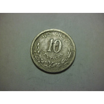 Republica Mexicana 10 Centavos Fecha 1888 Ceca Guadalajara