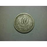 Republica Mexicana 10 Centavos1888 Guadalajara Envió Gratis