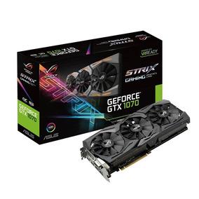 Placa Vga Asus Rog Geforce Gtx1070 Oc 8gb Gddr5 256 Bits