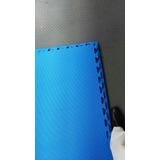 Piso Tatami De 25mm Rojo/azul