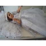 Divina Infantita Con Vestido 40cm Pasta Porcelanizada