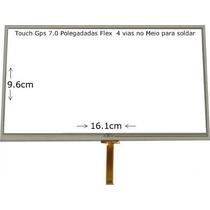 Tela Touch Gps Foston Fs-3d717dc 7 Polegadas Flex Central