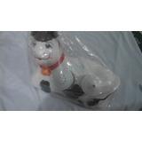 Vaquinha Galheteiro Em Cerâmica Porta Gardanapo+palito+sal