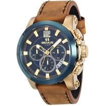 Relógio Seculus Masculino 13014gpsvlc2