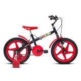 Bicicleta Aro 16 Rock Vermelho Verden Bikes