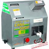 Moenda Cana Shop 60 Elétrica Com 3 Rolos Em Aço Inox Maqtron