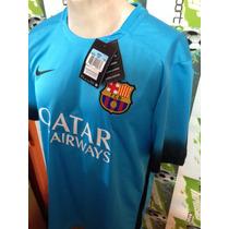 Jersey Nike Barcelona España 2016 100%original De Gala