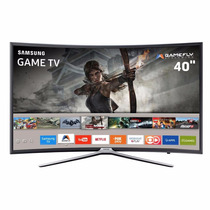 Smart Tv 40 Led Tela Curva Full Hd Un40k6500agxzd Wifi